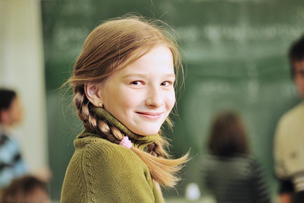 Achtsamkeit in der Schule – Schülerin