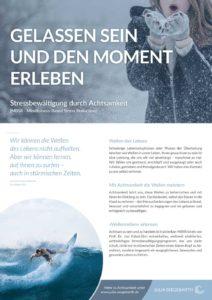 Infomaterial MBSR-Winterkurs mit Julia Seegebarth