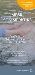 MBSR Sommerkurs 2020 mit Julia Seegebarth